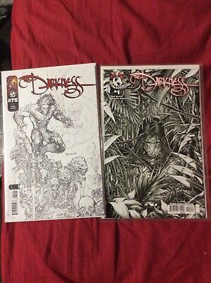 The Darkness  # 1 And 75 Sketch Cover Variant - Image -Top Cow