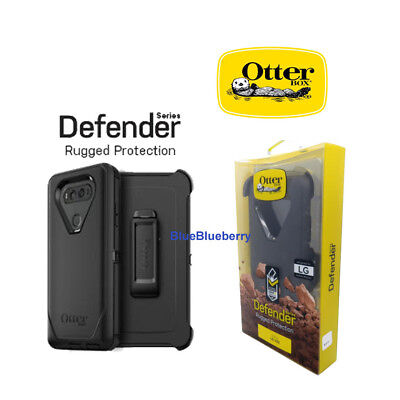 New oem Otterbox Defender Series Case for the LG V20 Black with Holster