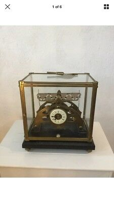 Vintage Small Size Single Fusee Congreve Rolling Ball Clock
