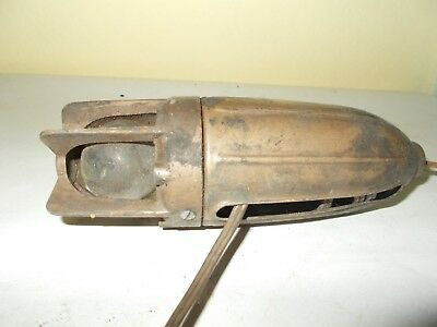 OLD ROCKET SHAPED LUCAS INSPECTION LAMP MODEL No 100