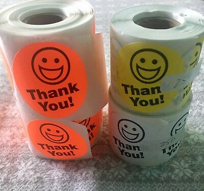 Lot Over 750 Thank You Stickers Shipping Post Office eBay