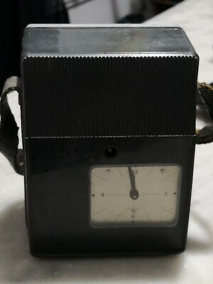 Vintage Simplex Guards Watchman Clock with Plastic Housing - West Germany