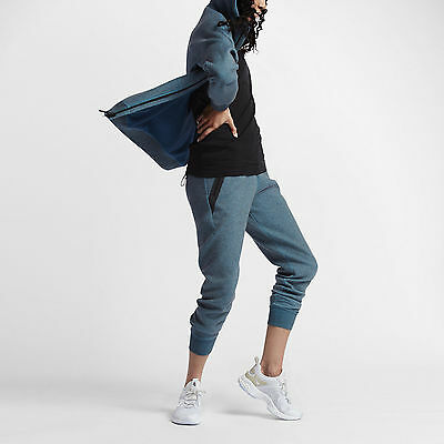 9166748cd9fe7 NIKE NIKELAB TECH Fleece x Kim Jones Women's Pants 837937 407 Blue SZ S  Training