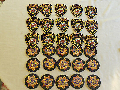 30 Wyoming Highway Patrol Police Patches
