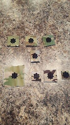 US ARMY GI MULTICAM OCP O-5 LTC HOOK BACK CAMOUFLAGE CAMO Variety Plus Other