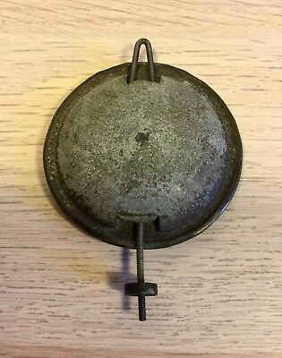 Original antique clock BRASS COVERED LEAD BOB PENDULUM.                (MJ 202)