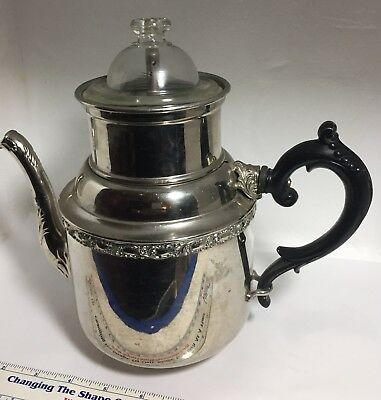 Antique Manning Bowman & Co. Tea/coffee Pot