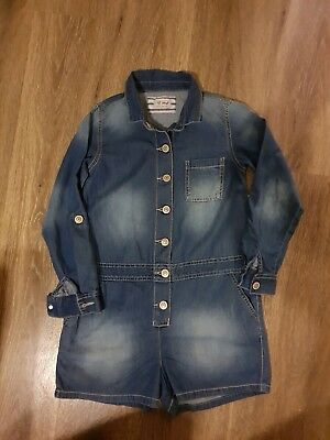 Brand New Denim All In One Jump Suit From Next Age 8 Years