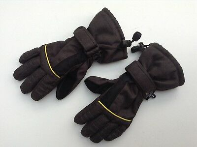 Boys/Girls/Kids/Children Thinsulate Insulated Snow Gloves - Size 4.5 - Age 6-10