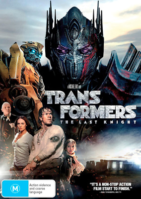 Transformers - The Last Knight (DVD, 2017) NEW