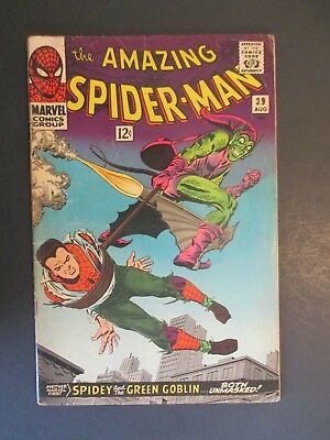 The Amazing Spider Man 39  Key Silver Age Marvel First Romita Art