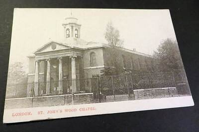 LONDON c1905 St Johns Wood Chapel