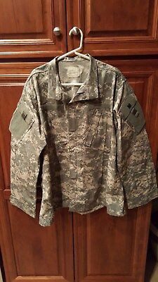 ACU Shirt/Coat Large Regular USGI Digital Camo Cotton/Nylon Ripstop Army Combat