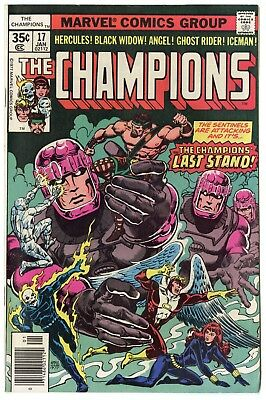 Champions #17 NM 9.4 white pages  Marvel  1978  No Reserve