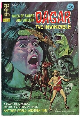 Dagar the Invincible #5 VF/NM 9.0 white pages  Gold Key  1973  No Reserve