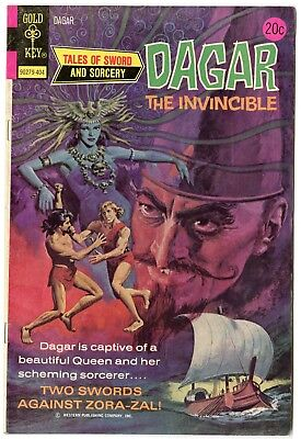 Dagar the Invincible #7 VF/NM 9.0 ow/white pages  Gold Key  1974  No Reserve