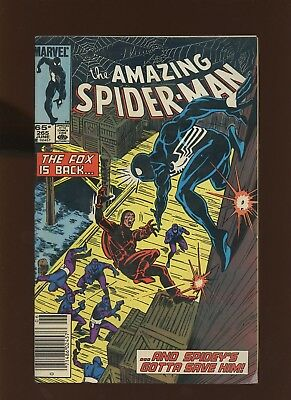 Amazing Spider-Man 265 FN+ 6.5 *1 Book* 1985 Marvel! 1st app Silver Sable! Frenz