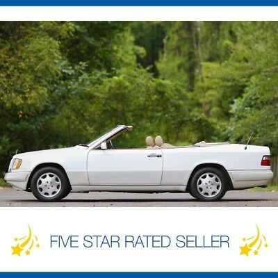 1995 Mercedes-Benz E-Class Convertible Serviced California Car CARFAX Rare! 1995 Mercedes Benz E320 Convertible Serviced California Video CARFAX!