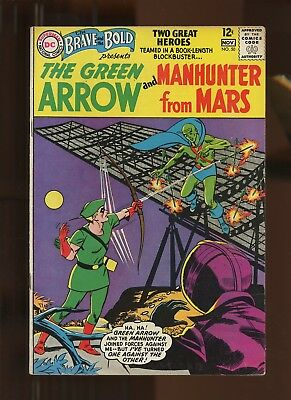 Brave and the Bold 50 VF 7.5 *1 Book* 1963 DC! 1st B&B Team-Up! Green Arrow!