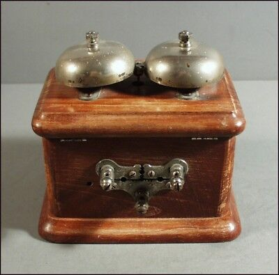Vintage Medical Quack Electric Shock Therapy Bell Box