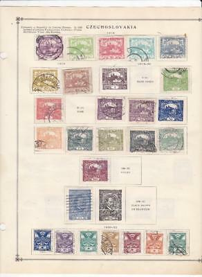 Mint, Used, CTO Czechoslovakia Collection On Scott Album Pages - SEE!!!