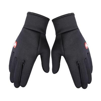 New Motorcycle Gloves Waterproof/Windproof Winter Warm Carbon Fiber Finger Ride