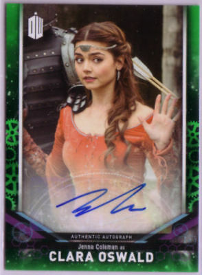 2018 Topps Doctor Who Signature Series AUTO - Jenna Coleman as Clara Oswald /50