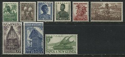 Papua & New Guinea all values from 1/2d to 1/  mint o.g.