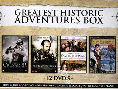 Greatest Historic Adventures (4 Mini-Series) NEW PAL Cult Classic 12-DVD Set