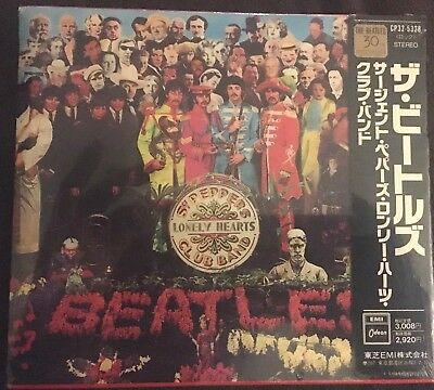 THE BEATLES Sgt. Pepper's JAPAN CD CP32-5328  New Sealed Copy w/ OBI 1993 STEREO