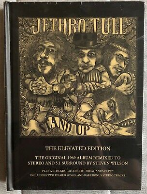 JETHRO TULL Stand Up Elevated Edition box SEALED 2 CD/1 DVD Steven Wilson OOP