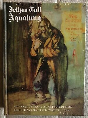 JETHRO TULL Aqualung 40th Adapted Edition box SEALED 2 CD/2 DVD Steven Wilson
