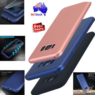 360° Full Body Ultra Thin Soft Shockproof Case Cover For Samsung Galaxy S8/S8+