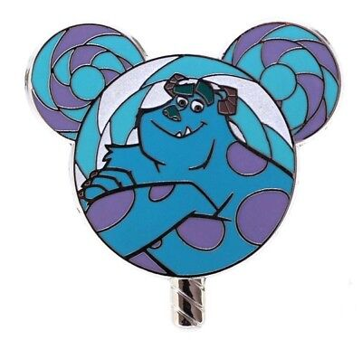 2017 Disney HKDL Lollipop Mystery Tin Collection Sulley Pin Rare W7