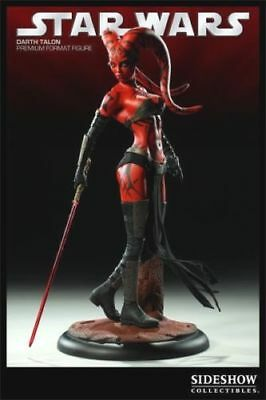 SIDESHOW Darth Talon EXCLUSIVE 1/4 Scale Premium Format Statue NEW - STAR WARS