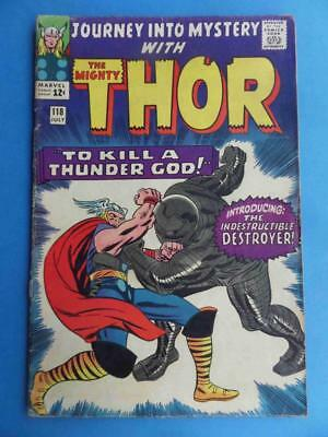 Journey Into Mystery 118 1965 Thor! 1St Destroyer!