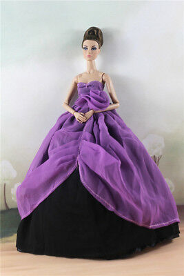 Fashion Princess Party Dress/Evening Clothes/Gown For Barbie Doll M2