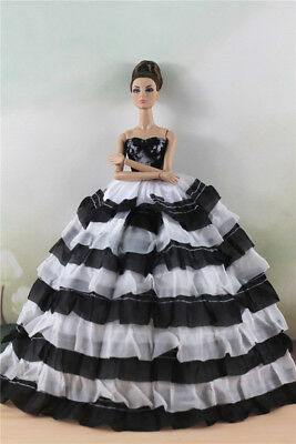 Fashion Princess Party Dress/Evening Clothes/Gown For Barbie Doll M11