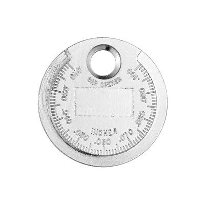1x Hot Excellent Coin Spark Plug Gap Tool Type Gauge Top 0.02 to 0.100INCH Bulk