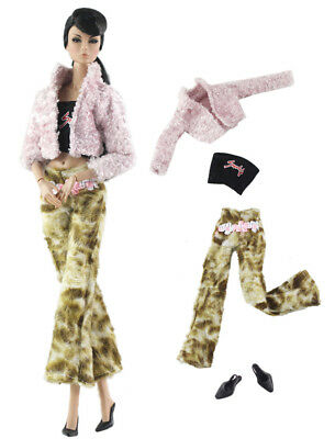 1 Set Fashion Handmade Doll Clothes Outfit for Barbie Doll L14