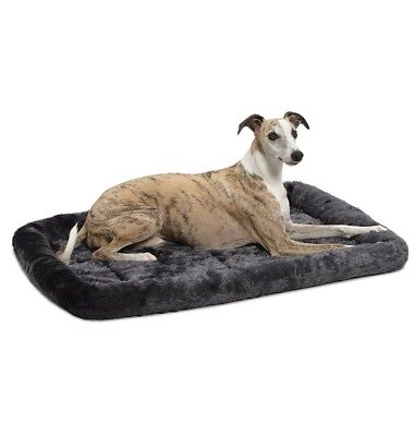 MidWest Deluxe Bolster Pet Bed for Dogs Cats