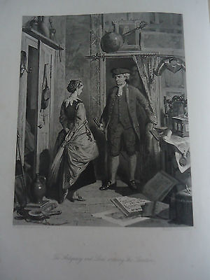 1866/7 Book of 6 Prints to Sir Walter Scott's THE ANTIQUARY
