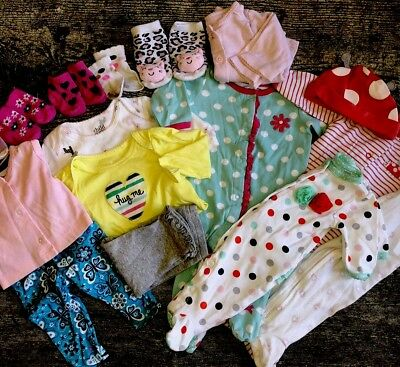 Baby Girl Outfit 0-3months Lot 15 Pieces
