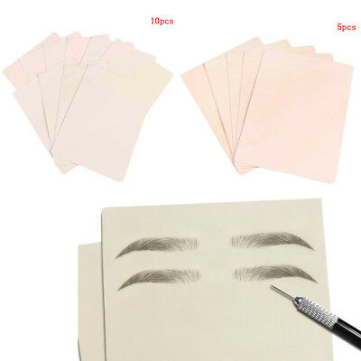 10Pcs Learn Blank Tattoo Tattoos Fake False Practice Skin Synthetic JC