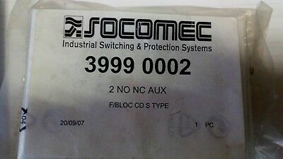 socomec 3999 0002 auxiliary contact