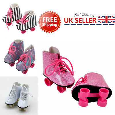 34c5517f95 GLITTER DOLL ROLLER Skates Shoes 18 Inch Our Generation Girl Dolls  Accessories