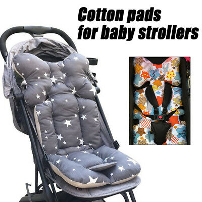 Safe Baby Stroller Pram Seat Cushion Pad Liner Head Body Support Pillow Mat FL