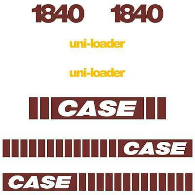 1840 Early SERIES Case Decals Case Stickers Kit Repro Set