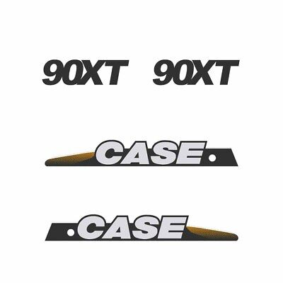 CASE 90XT Decals Stickers Skid loader Repro kit