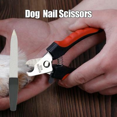 Pet Heavy Duty Nail Clipper Cutter Scissors Dog Cat Rabbit Toe Claw Paw Groomin